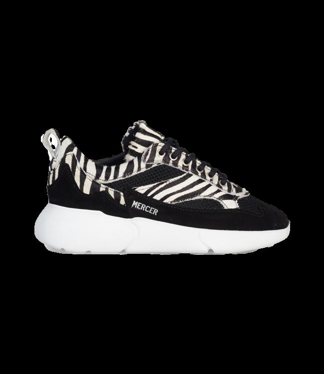 Sneaker W3RD Leather Nylon Zebra