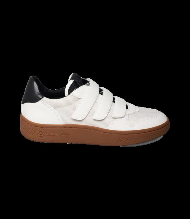 Michael Kors Gertie Sneaker Woven Mesh Cream Multi