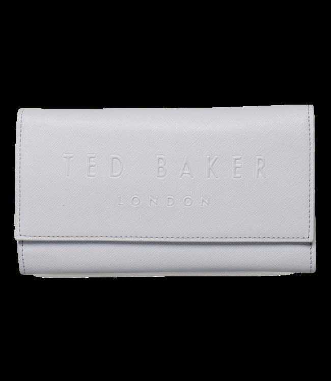 Ted Baker Telifi Deboss Phone Purse On Chain Grey