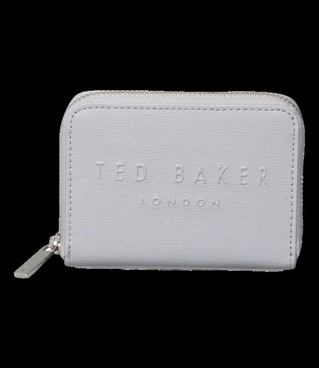 Ted Baker Halla London Zipp Small Purse Light Grey