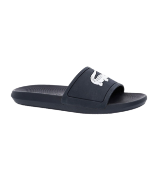 Lacoste Croco Slide Navy White