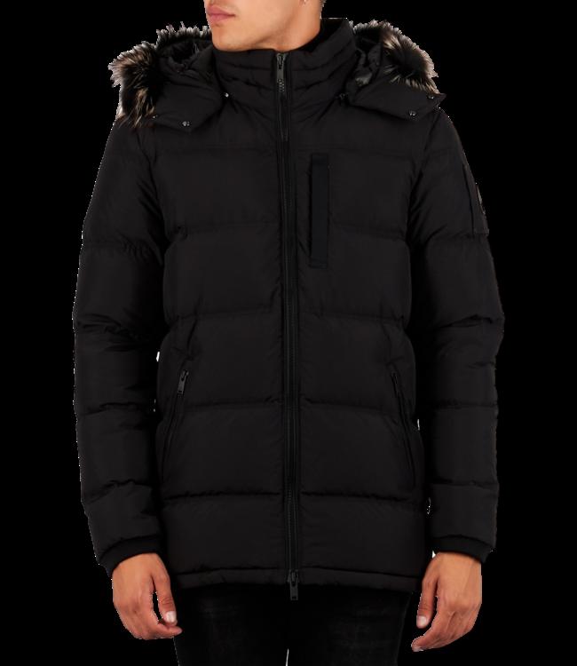 Moose Knuckles Southdale Jacket Black W/ Viking