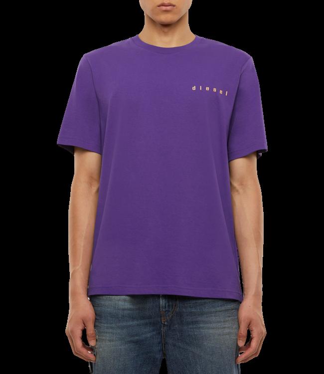 Diesel T-Shirt Just N44 Purple
