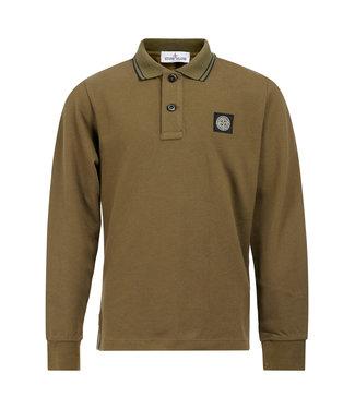 Stone Island Polo Shirt Military Green