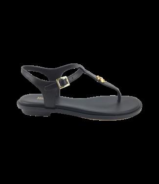 Michael Kors Mallory Thong Leather Black