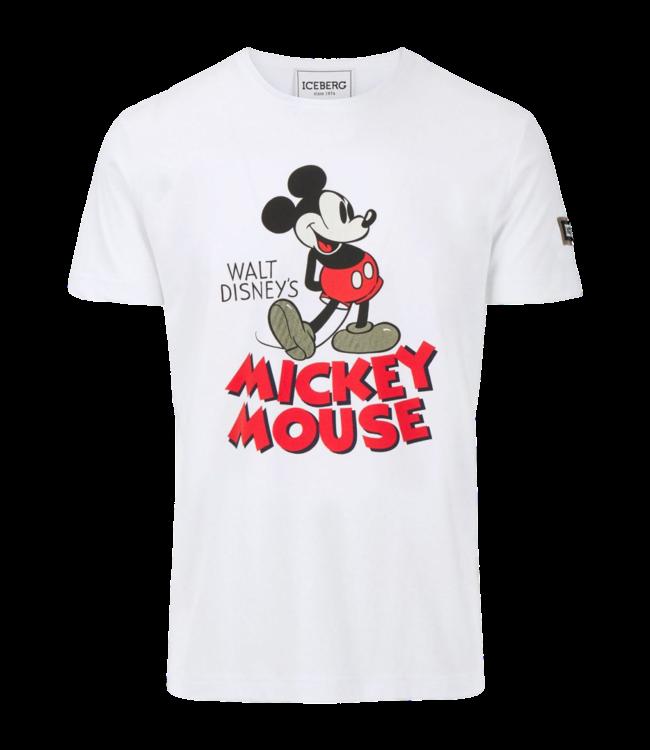 Iceberg T-shirt T-shirt Mickey Mouse White