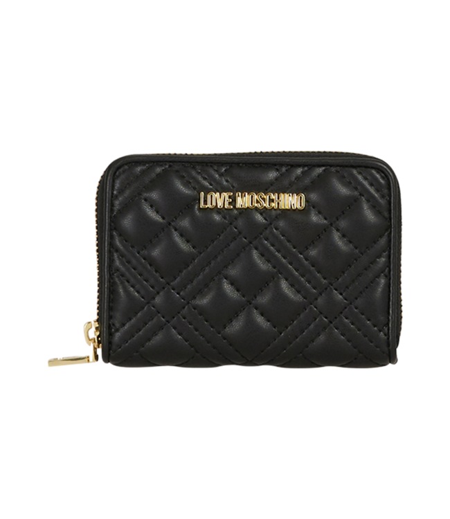 Love Moschino Purse Quilted Soft Pu Black