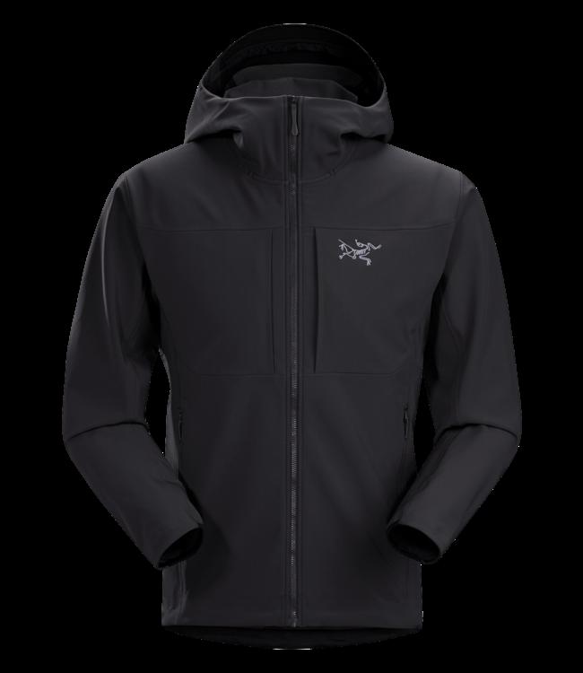 Arc'teryx Softshell Jacket Gamma Mixed Weather Hoody  Black