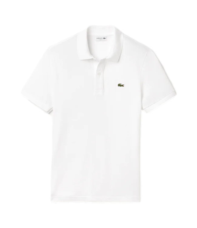 Lacoste Polo Shirt Slim Fit White