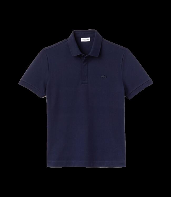 Lacoste Polo Paris Edition Regular Fit Navy Blue