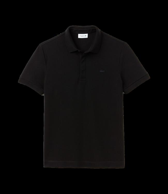 Lacoste Lacoste Polo Paris Edition Regular Fit Black