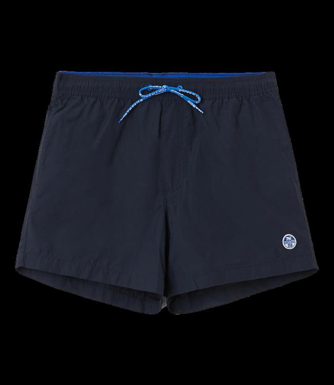 North Sails Shorts Volley Logo Navy Blue