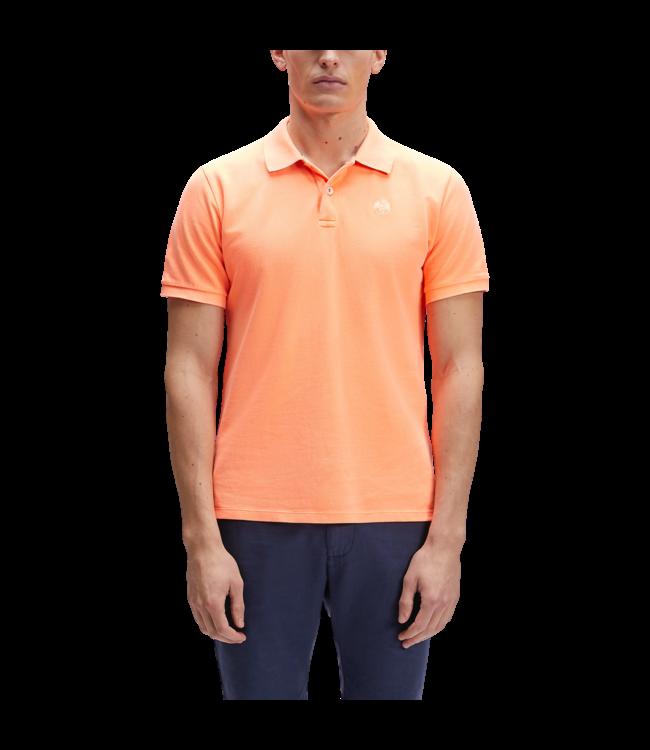 North Sails Polo Logo Embroidery Orange Fluo