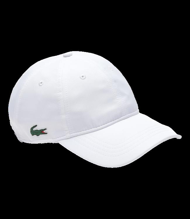 Lacoste Sport Cap Small Logo White