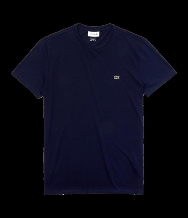 Lacoste T-Shirt Basic Logo Navy Blue