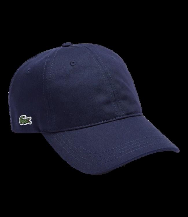 Lacoste Cap Cotton Small Logo Navy Blue