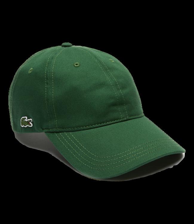 Lacoste Cap Cotton Small Logo Green