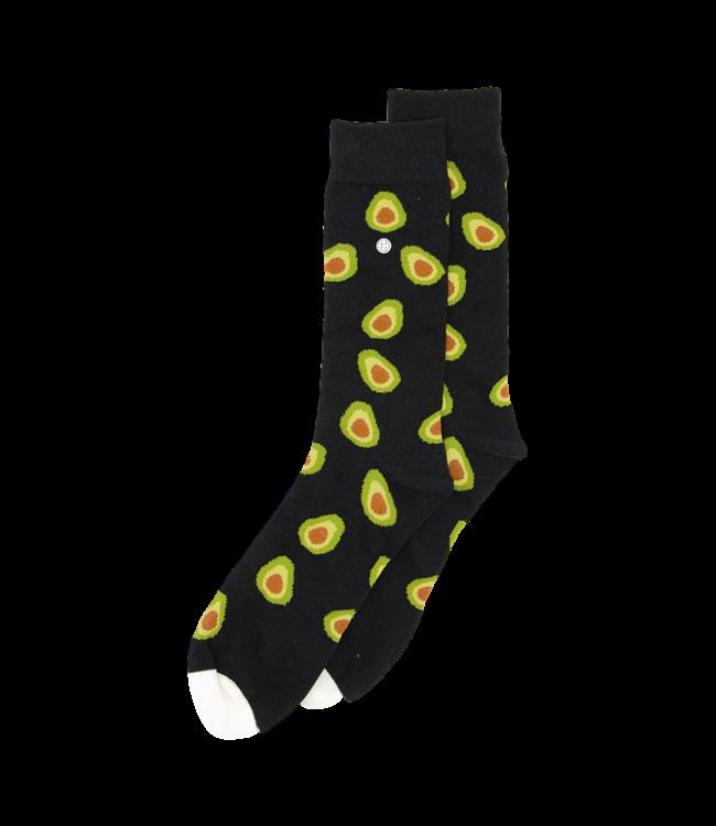 Alfredo Gonzales Socks Avocados Black Brown Green