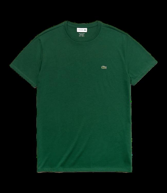 Lacoste T-Shirt Basic Logo Green