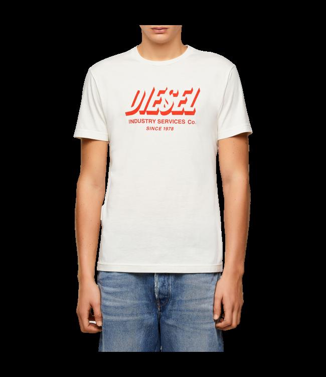 Diesel T-Shirt Diegos White