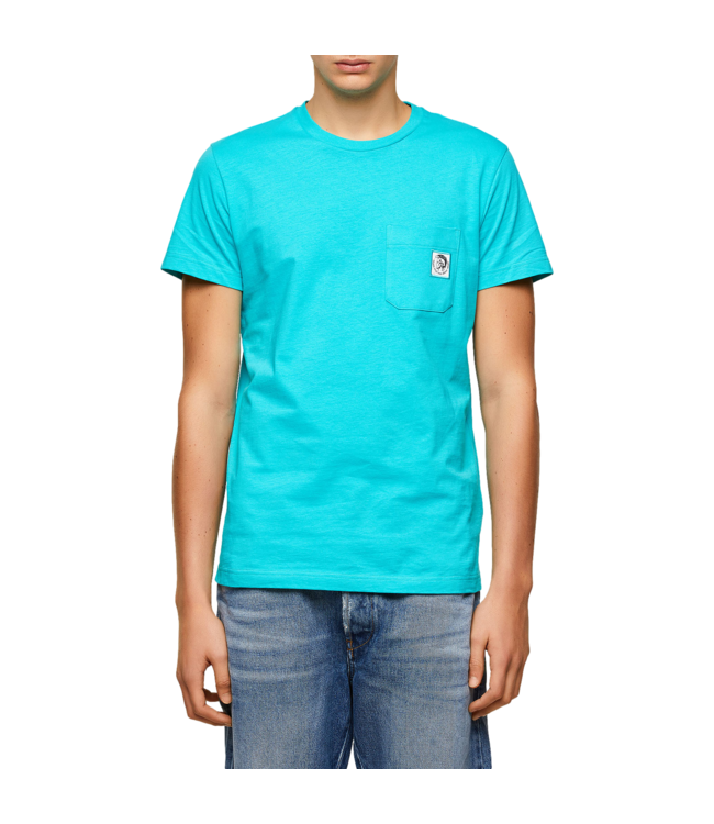 Diesel T-Shirt Worky Mohi Turqoise