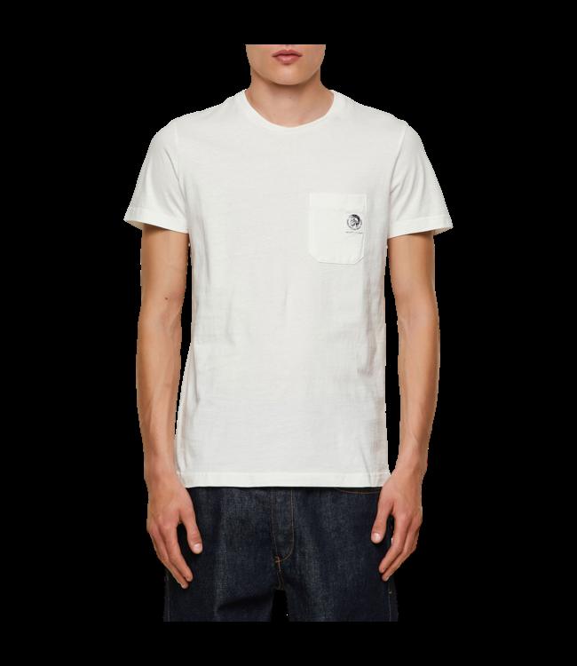 Diesel T-Shirt Worky Mohi White