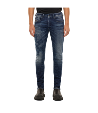 Diesel Jeans Sleenker-X Damaged Blue