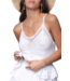 Colourful Rebel Juna Broderie Anglaise Spaghetti Top Offwhite