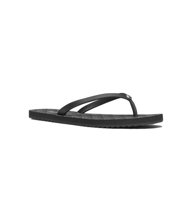 Michael Kors Jinx Flip Flop Black