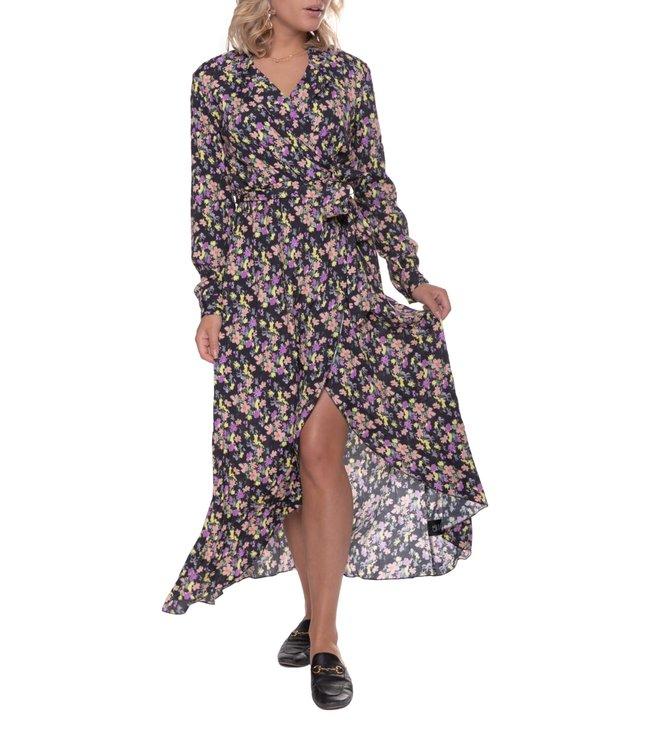 Colourful Rebel Vivian Flower Blazer Collar Dress Multicolor