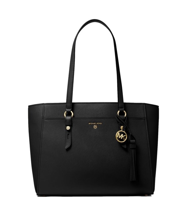 Michael Kors Sullivan Large Saffiano Leather Tote Bag Black