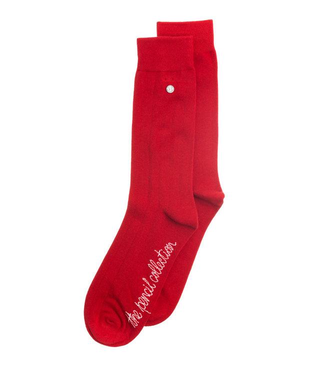 Alfredo Gonzales Socks Pencil Classic Red