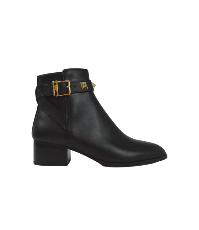 Michael Kors Britton Ankle Boot Leather Black