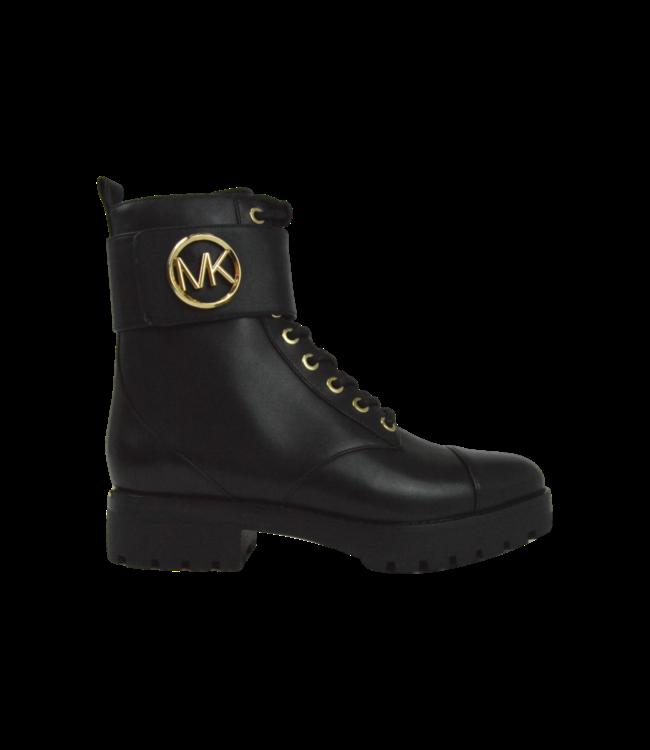 Michael Kors Tatum Ankle Boot Leather Black