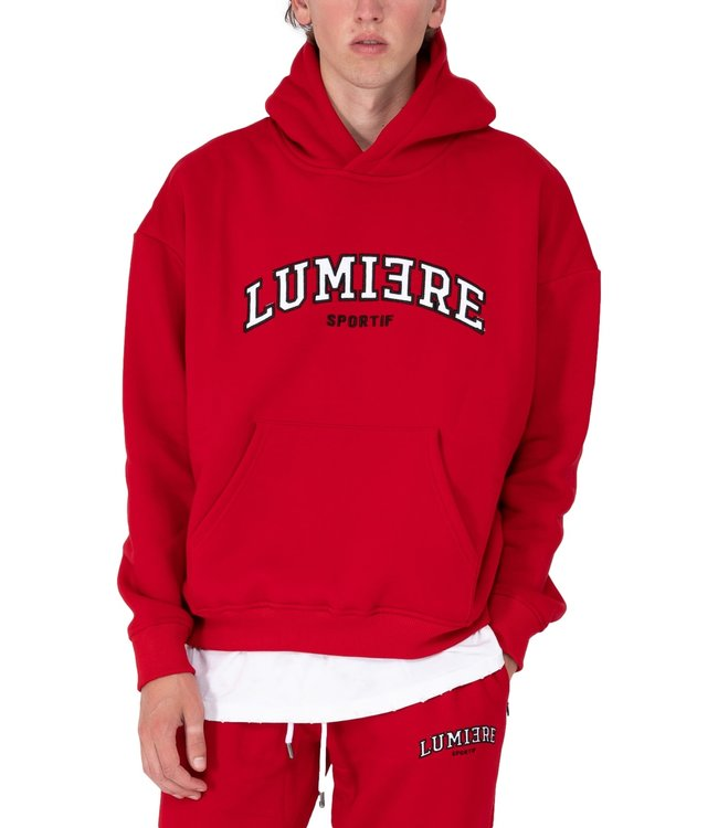 LUMI3RE Tracksuit Unisex Sportif Red