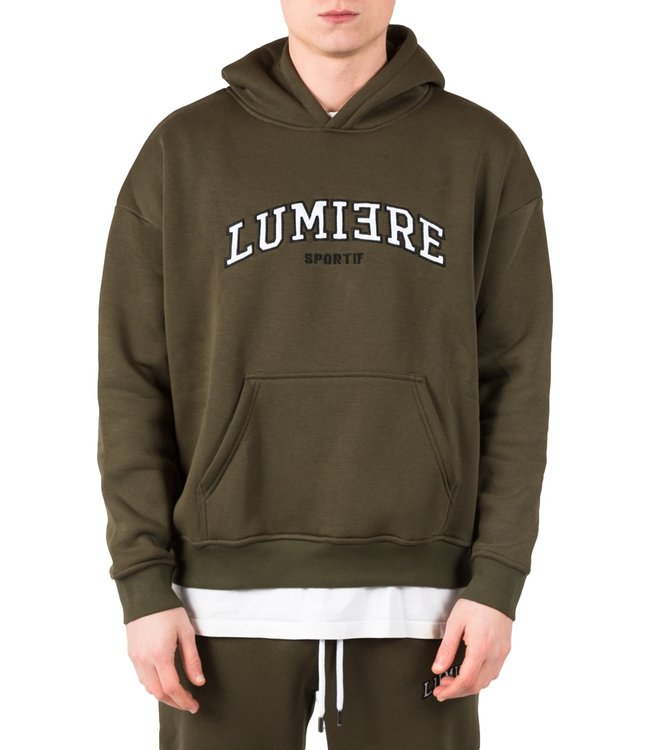LUMI3RE Tracksuit Unisex Sportif Army Green