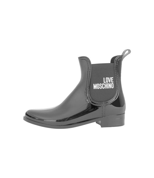 Love Moschino Rain Love Boots Black