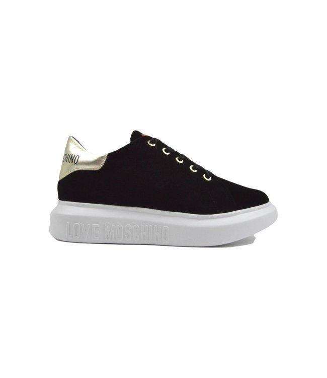 Love Moschino Sneakers Love Runners Velvet Black