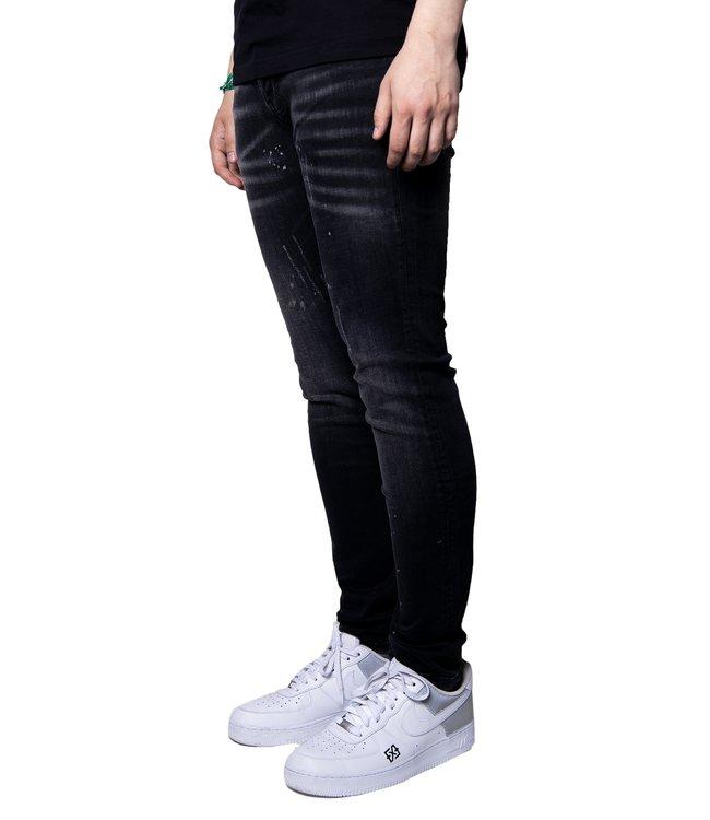 XPLCT Studios Bleach Jeans Black