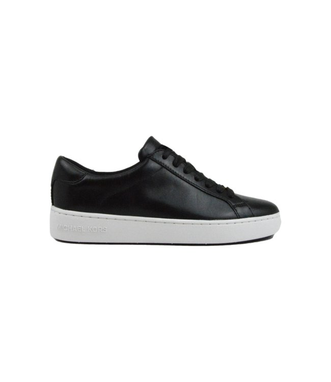 Michael Kors Irving Lace Up Leather Black