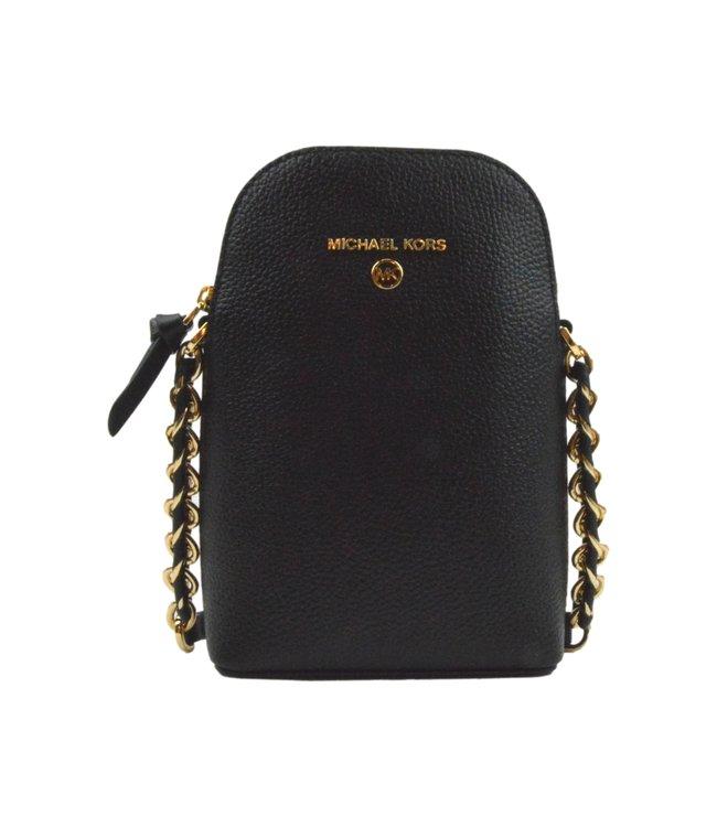 Michael Kors Jet Set Phone Crossbody Bag Black