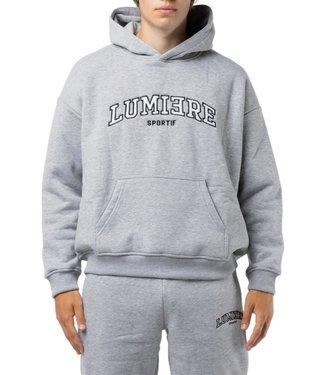 LUMI3RE Tracksuit Unisex Sportif Melange Grey