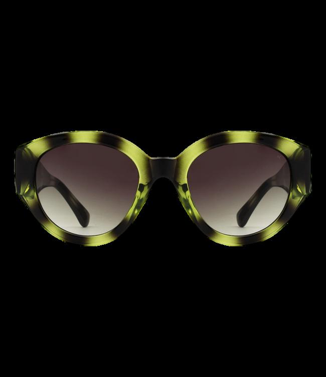 A.Kjaerbede Sunglasses Big Winnie Demi Olive