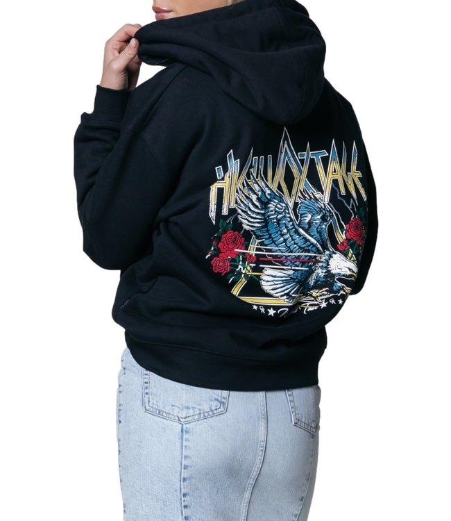 Colourful Rebel High Voltage Hoodie Black