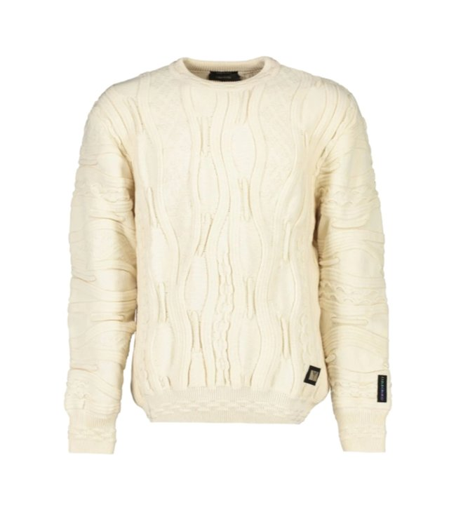 Carlo Colucci Knitwear Organic Off White