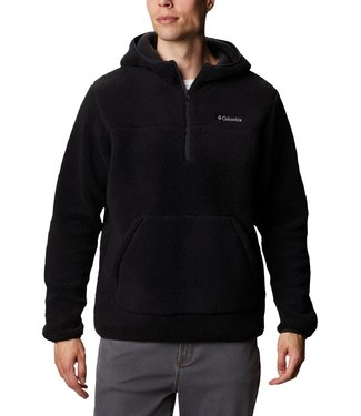 Columbia Rugged Right II Sherpa Pullover Hoodie Black