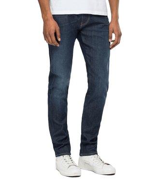 Replay Ajax Amsterdam Anbass Hyperflex Slim Fit Jeans Blue