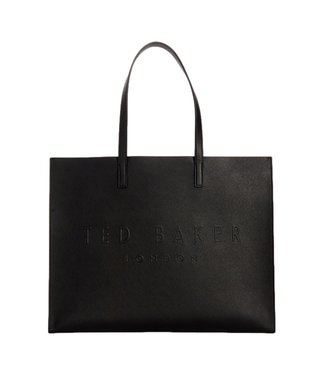 Ted Baker Sukicon Crosshatch East West Icon Bag Black