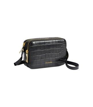 Ted Baker Stina Double Zip Mini Camera Bag Black