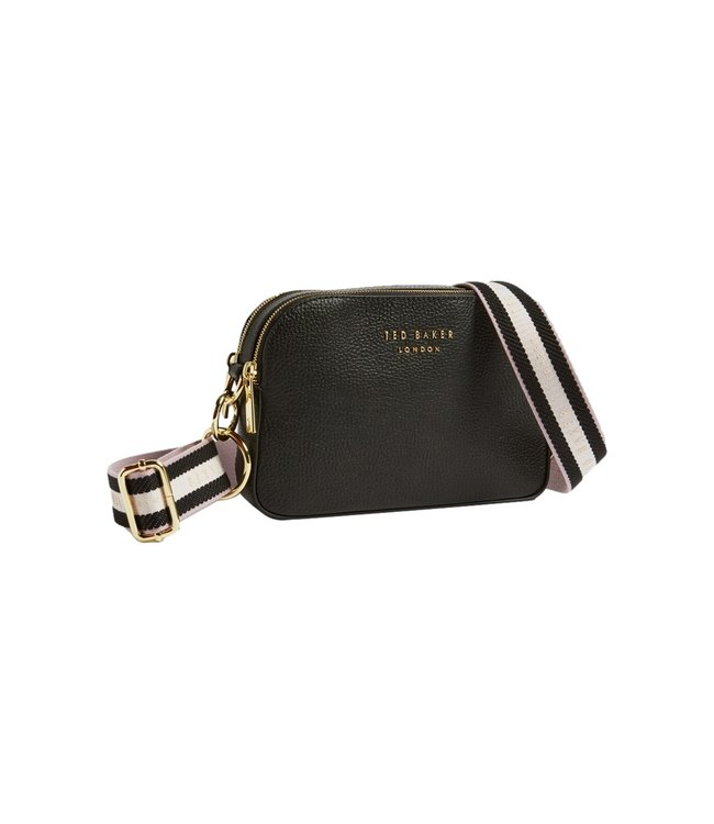 Ted Baker Amerrah Branded Webbing Strap Camera Bag Black
